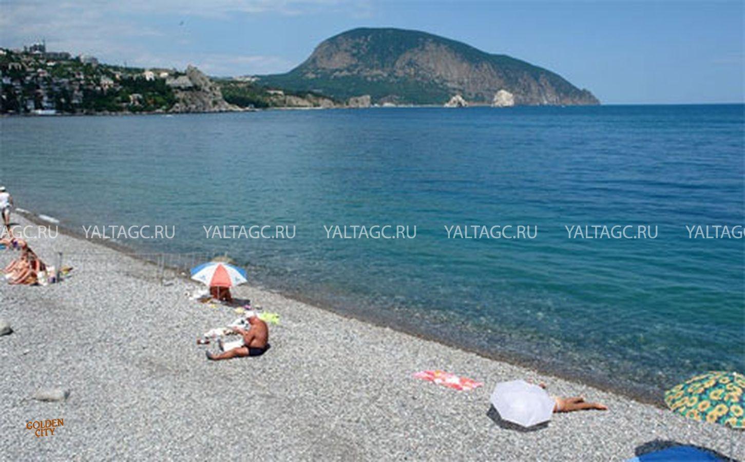 Фото и отзывы о пляжах гурзуфа