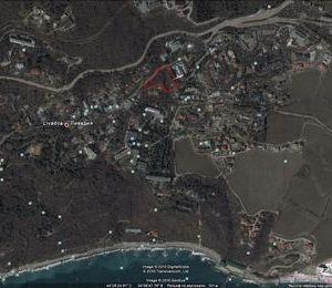 Земельный участок в пгт. Ливадия