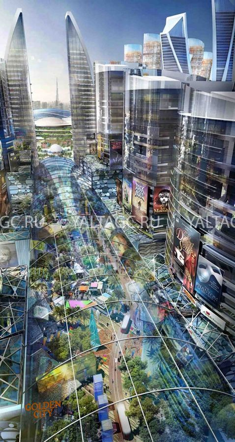 Дубай город под куполом купить дом в европе недорого с фото